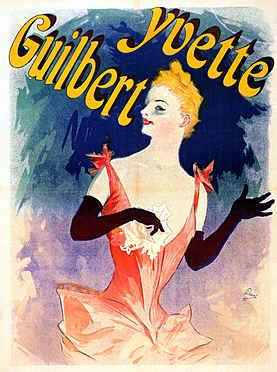 Yvette Guilbert au Concert Parisien