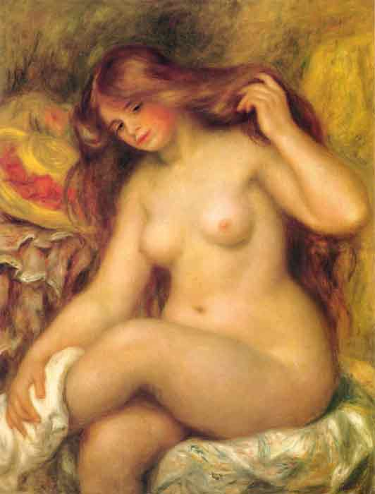 Bather with Blonde Hair, 1904-1906