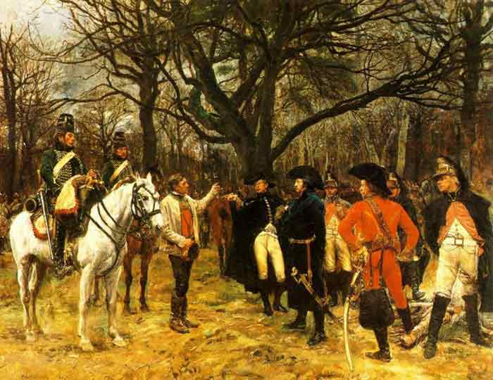 General Desaix and the Peasant, 1867