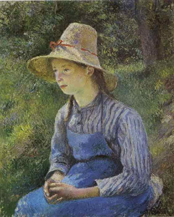 Girl Resting, 1881