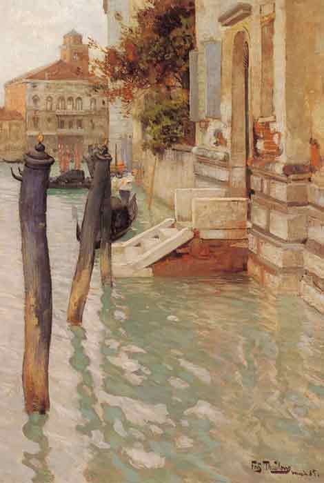 On The Grand Canal, Venice, 1885