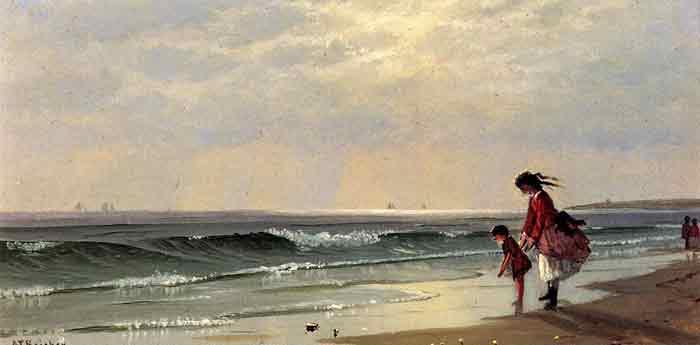 At the Shore, 1871