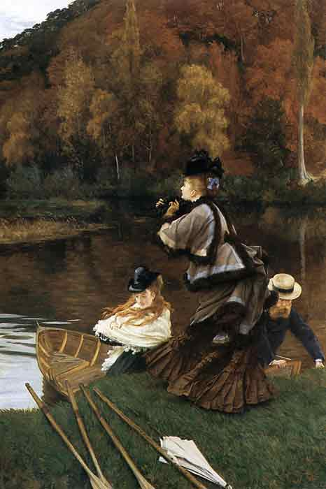 Autumn on the Thames, c.1871-1872
