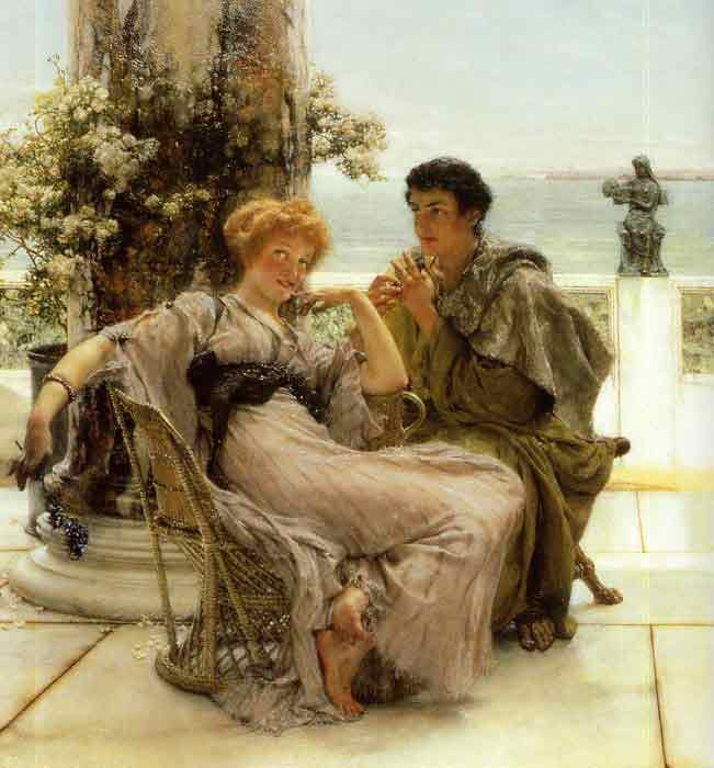Courtship - the Proposal, 1892