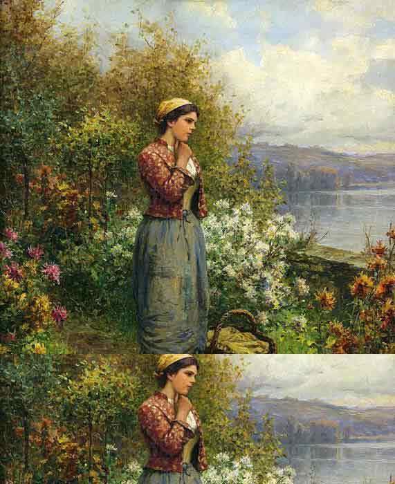 Julia on the Terrace, c.1909