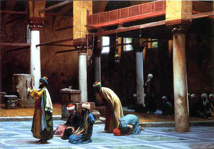 Prayer in a Mosque, 1892