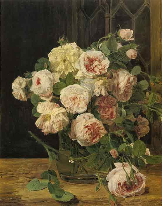 Rosen am Fenster, 1832