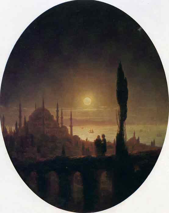 Seashore by Moonlight, 1847