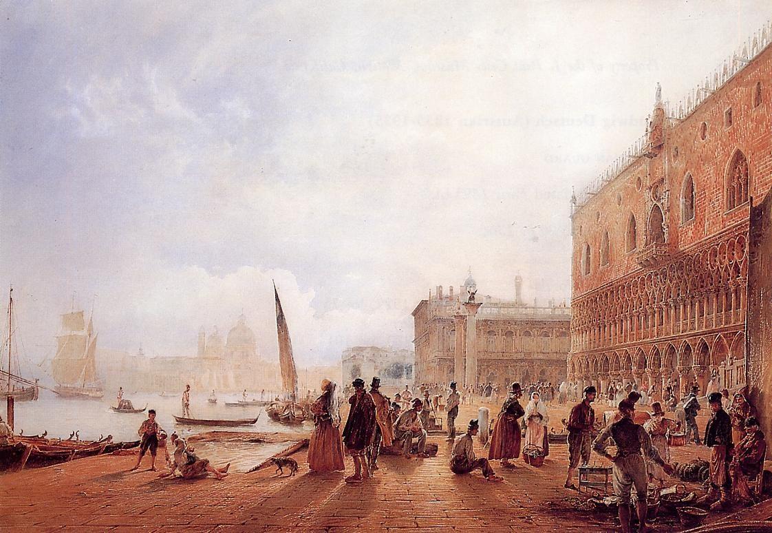 Figures on the Riva degli Schiavoni