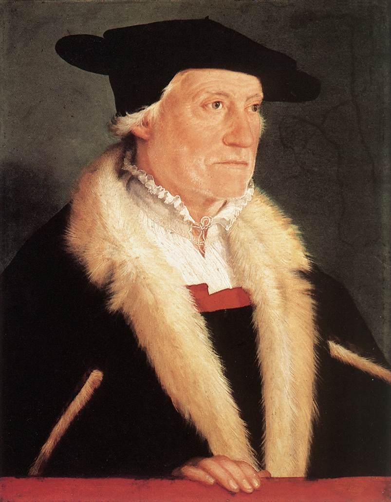 Portrait of the Cosmographer Sebastien M