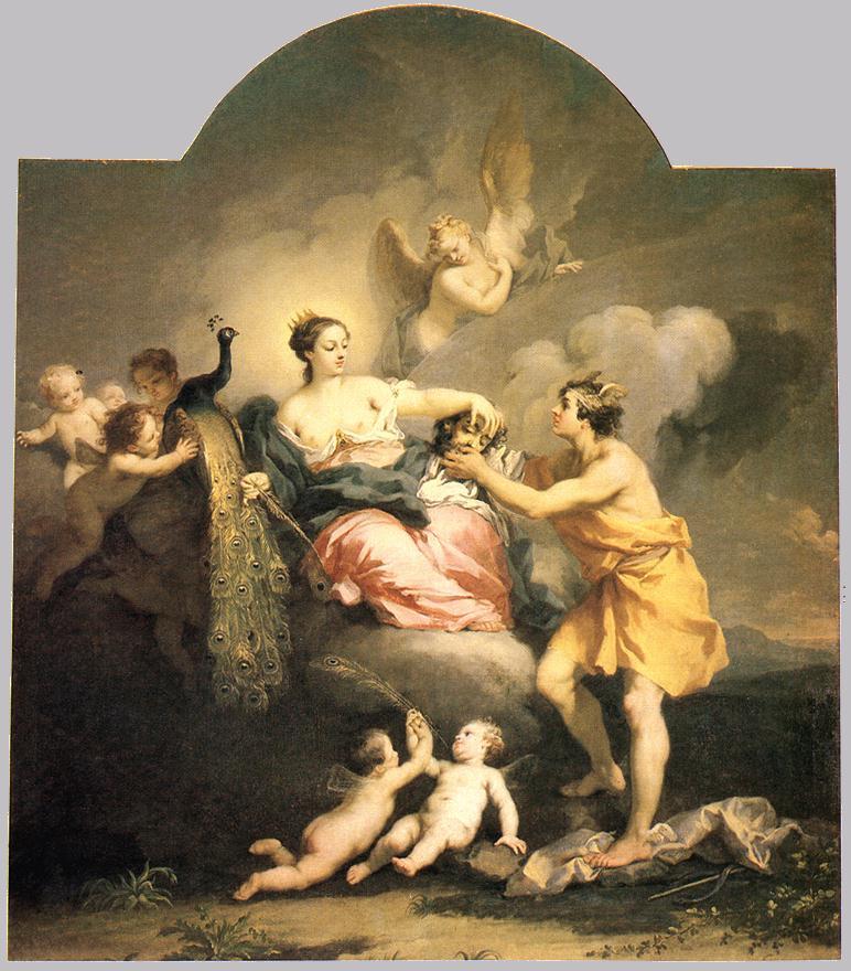 Juno Receiving the Head of Argos