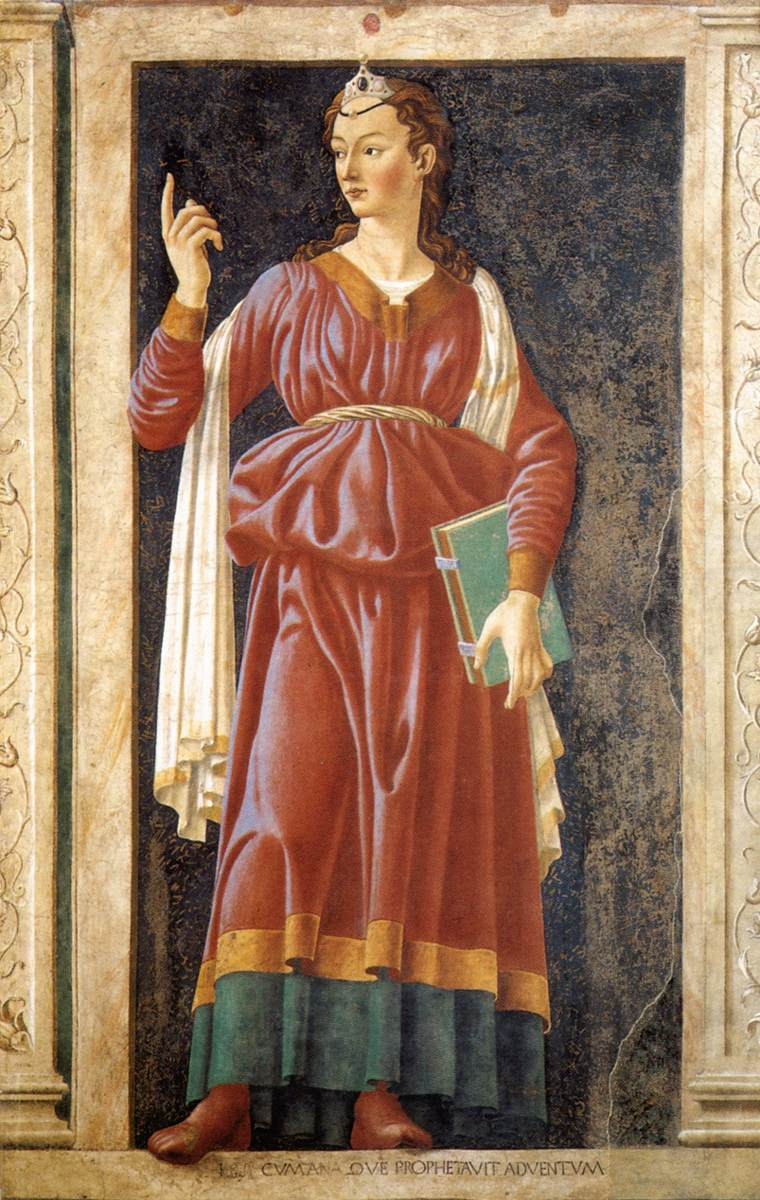 Famous Persons - The Cumean Sibyl