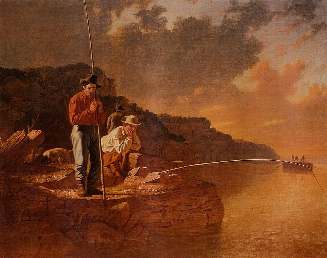 Fishing on the Mississippi