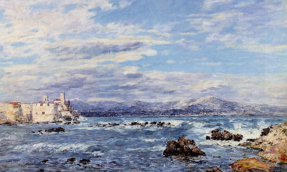 A Gusty Northwest Wind at Antibes