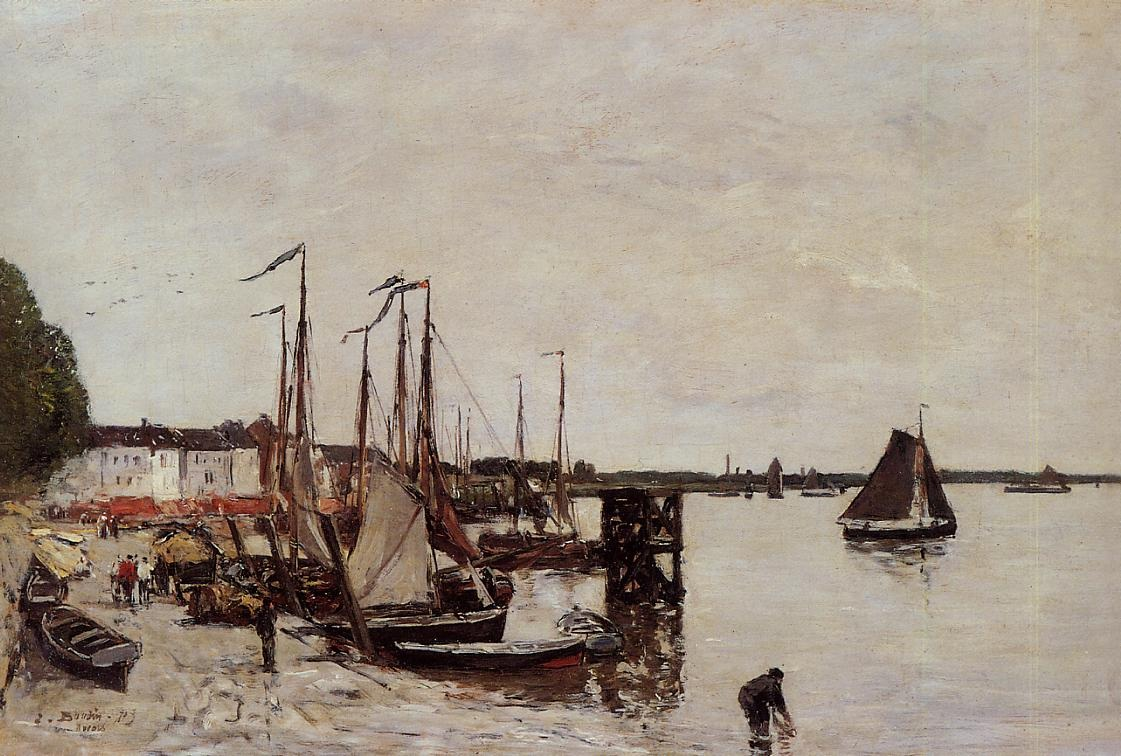 Anvers, Fishing Boats