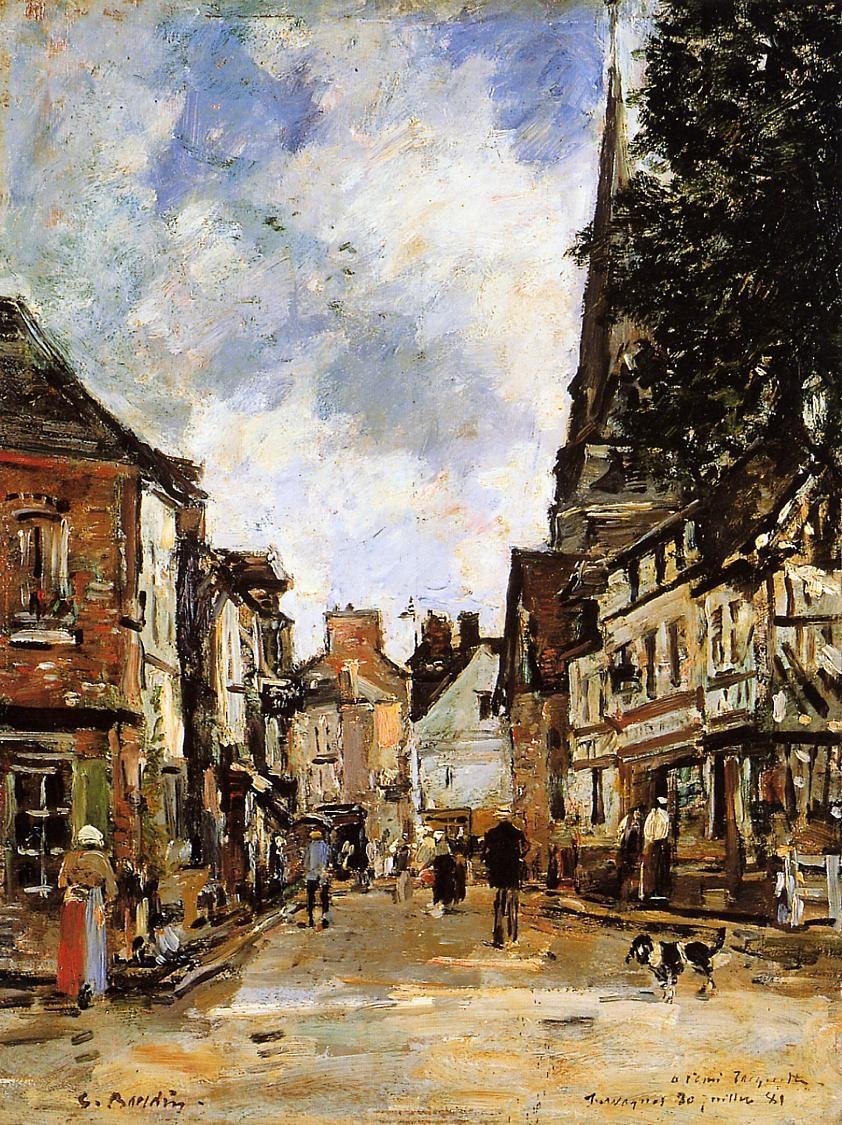 Fervaques, a Village Street