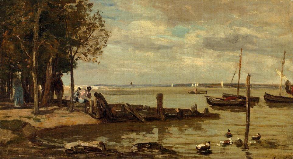 Honfleur, the Shore