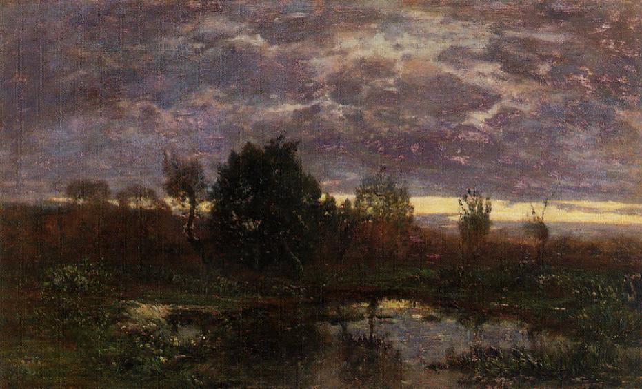 Pond at Sunset