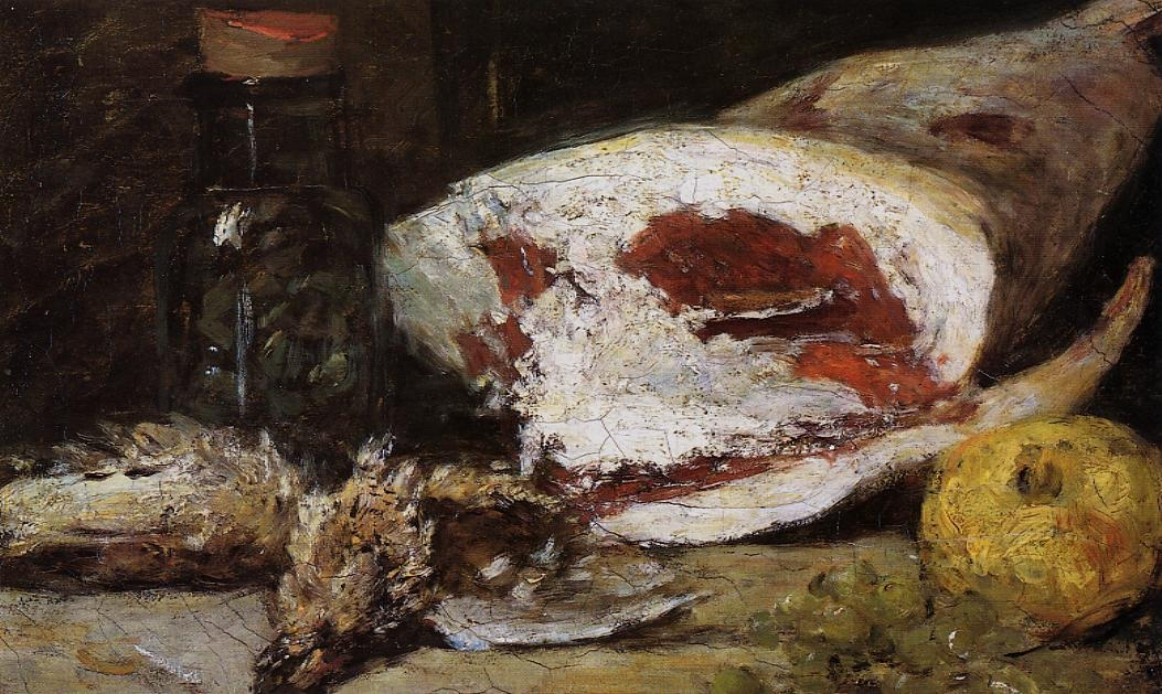 Still Life with a Leg of Lamb