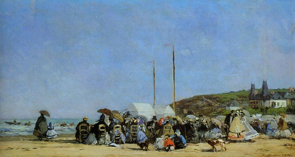Trouville, Beach Scene 2