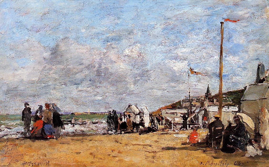 Trouville, Beach Scene 3