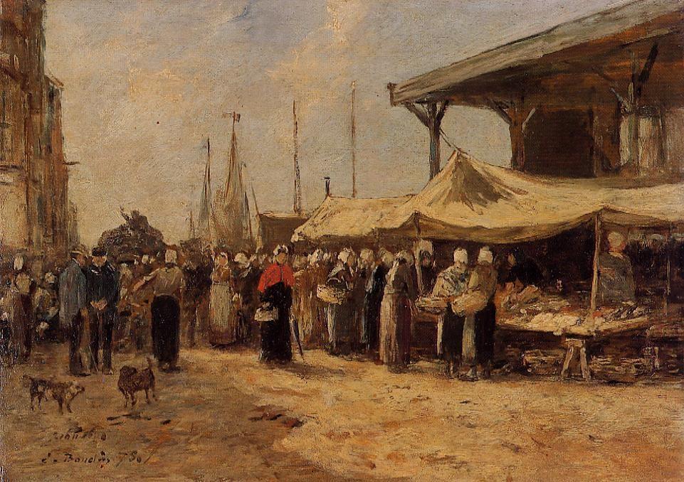 Trouville, Fish Market 2