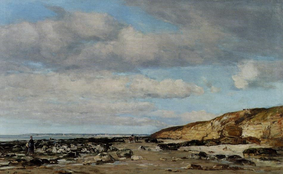 Trouville, Greve at Rochers