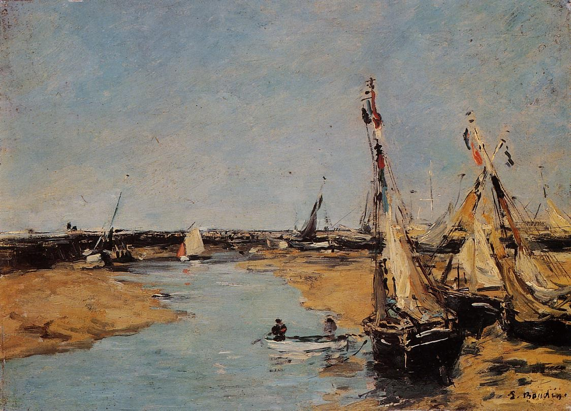Trouville, the Jettys, Low Tide 1