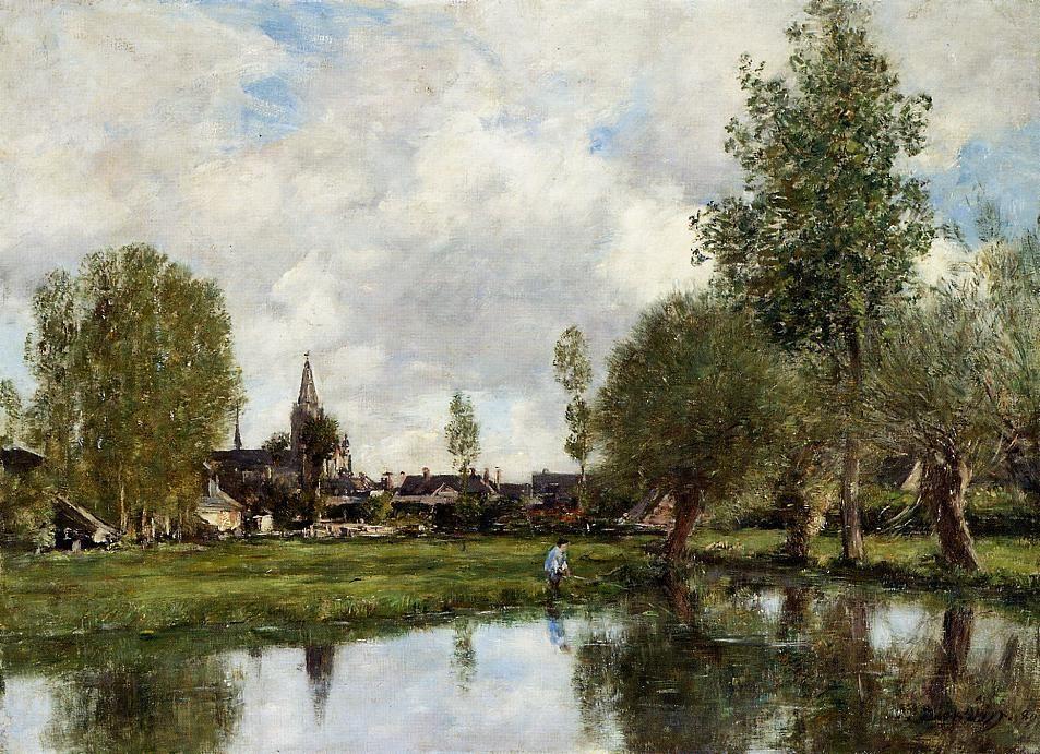 Village around Dunkirk