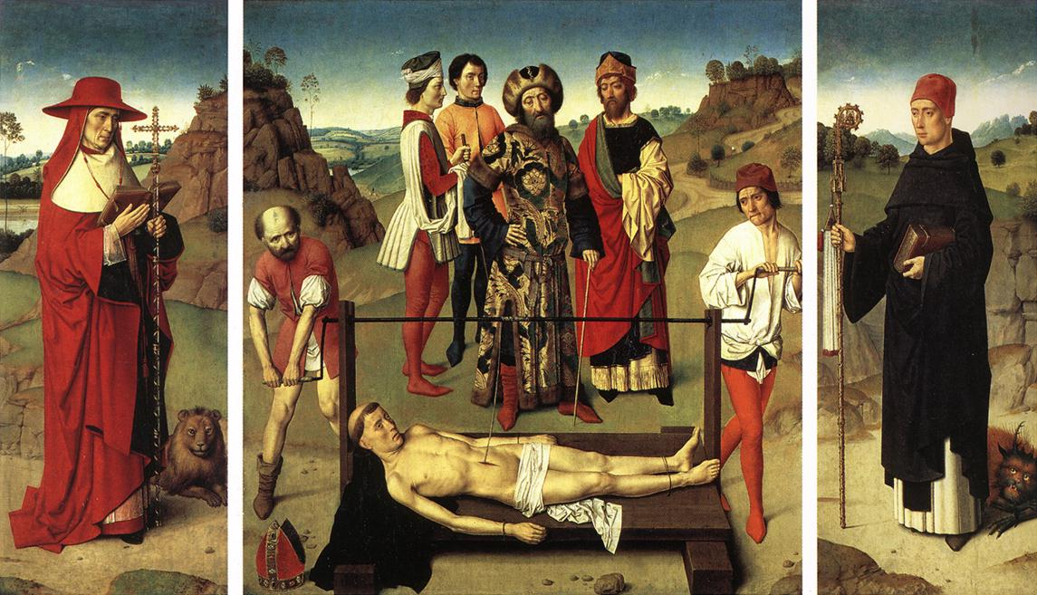 Martyrdom of St Erasmus