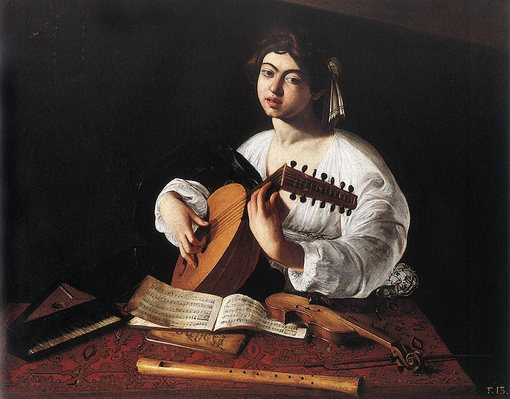 The Lute Player 2