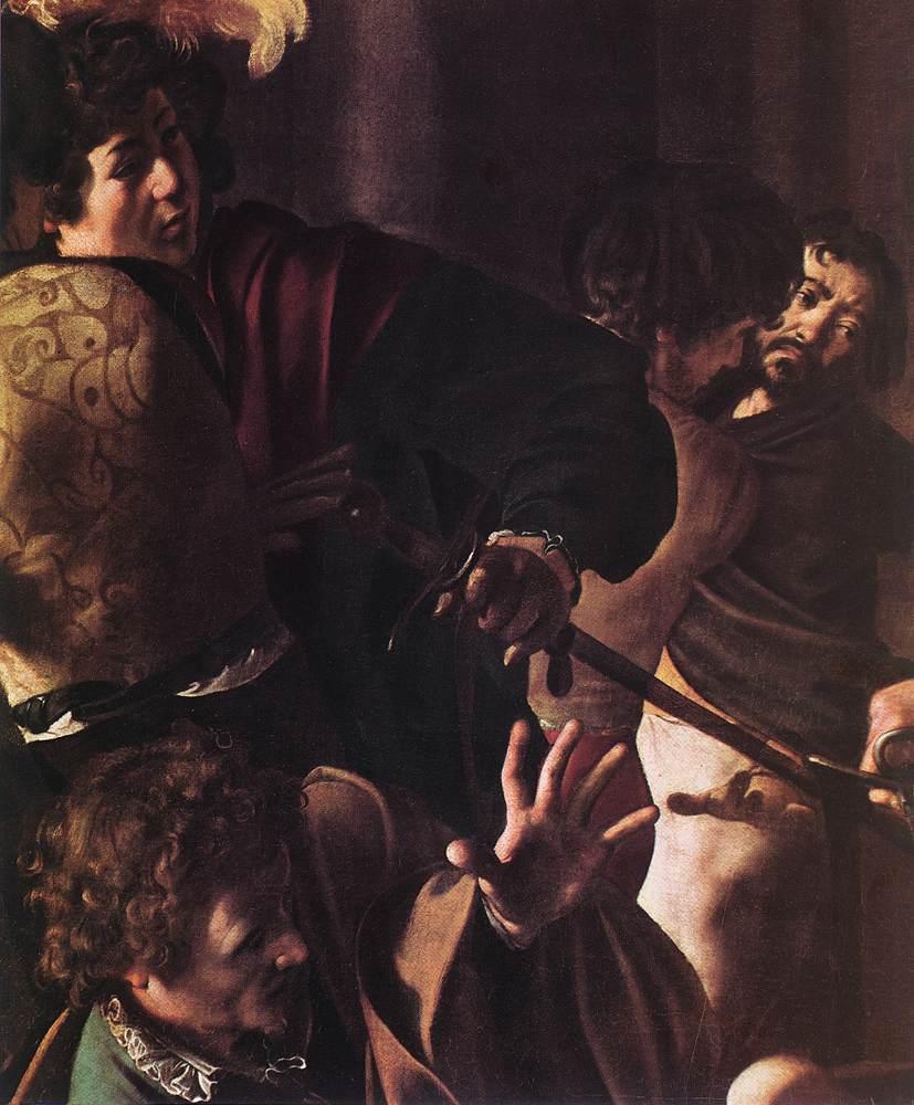 The Martyrdom of St Matthew (detail) 1