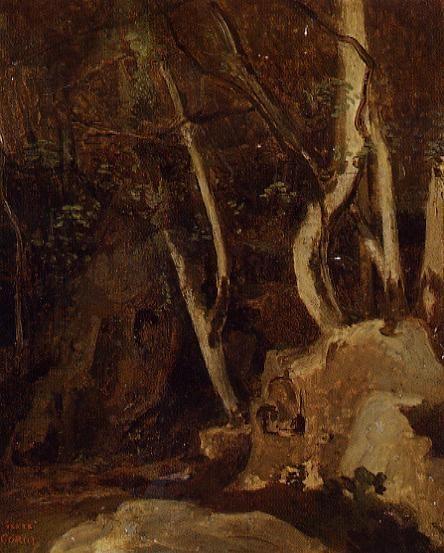 Civita Castellana, Rocks with Trees