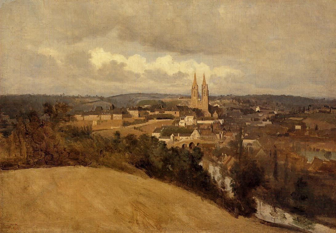 View of Saint-Lo