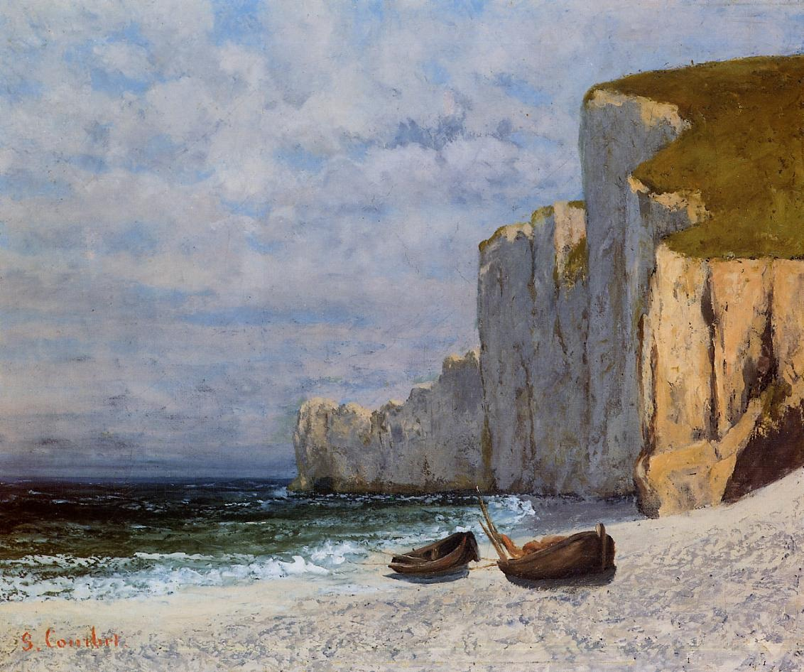 A Bay with Cliffs