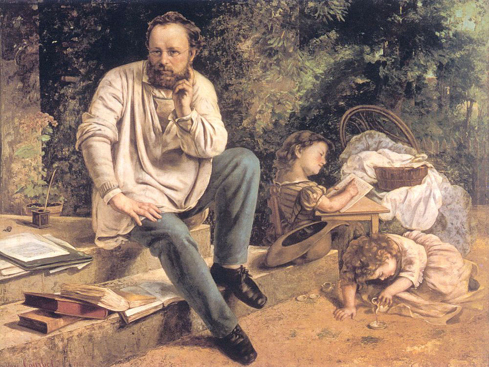 Portrait of P.J. Proudhon