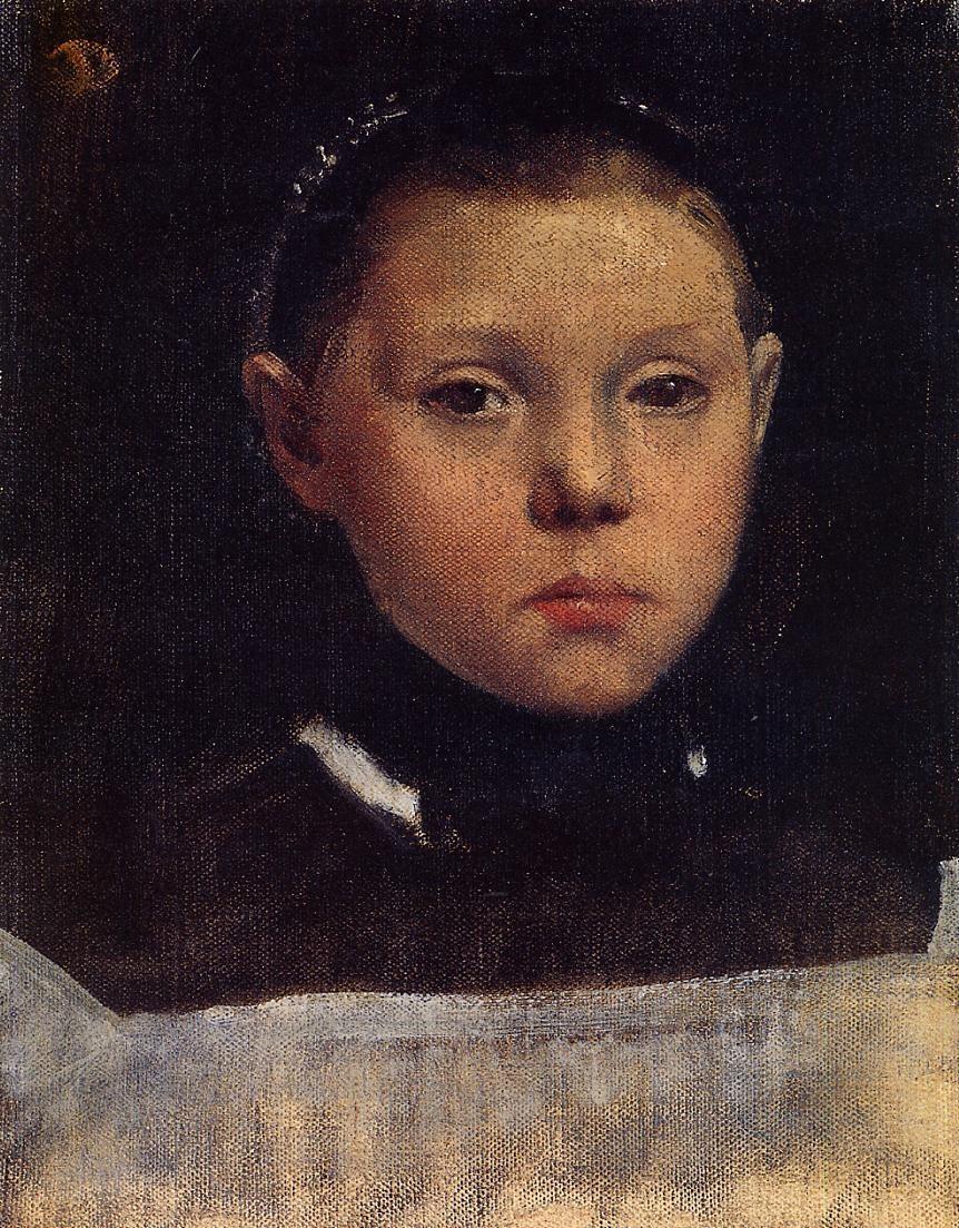 Portrait of Giulia Belleli 1