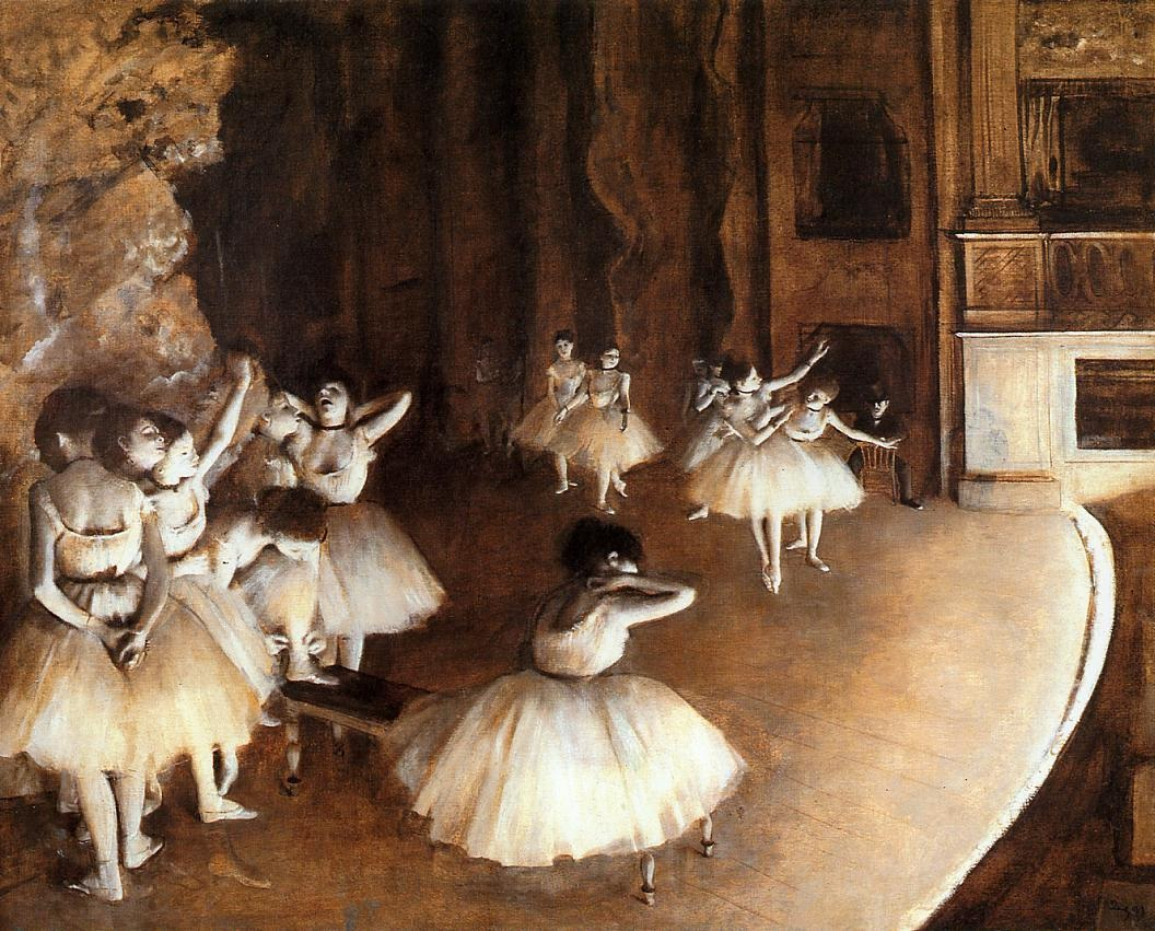 The Rehearsal of the Ballet on Stage 3