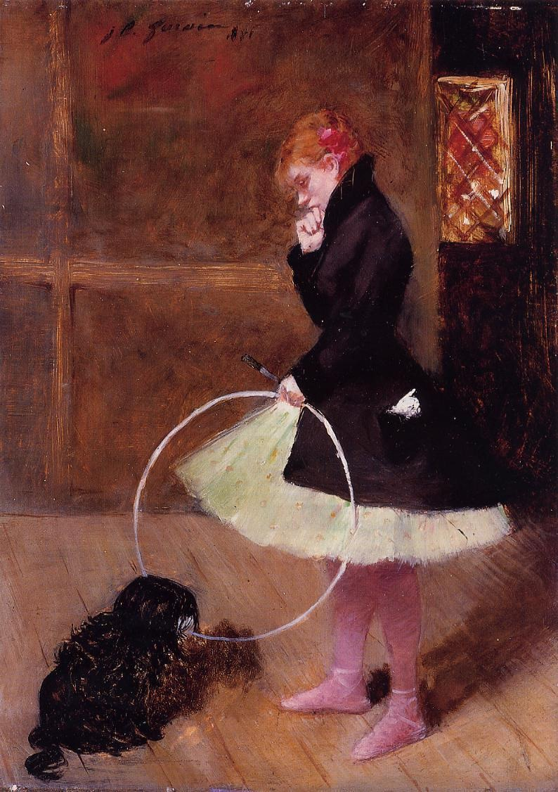 Dancer with a Hoop
