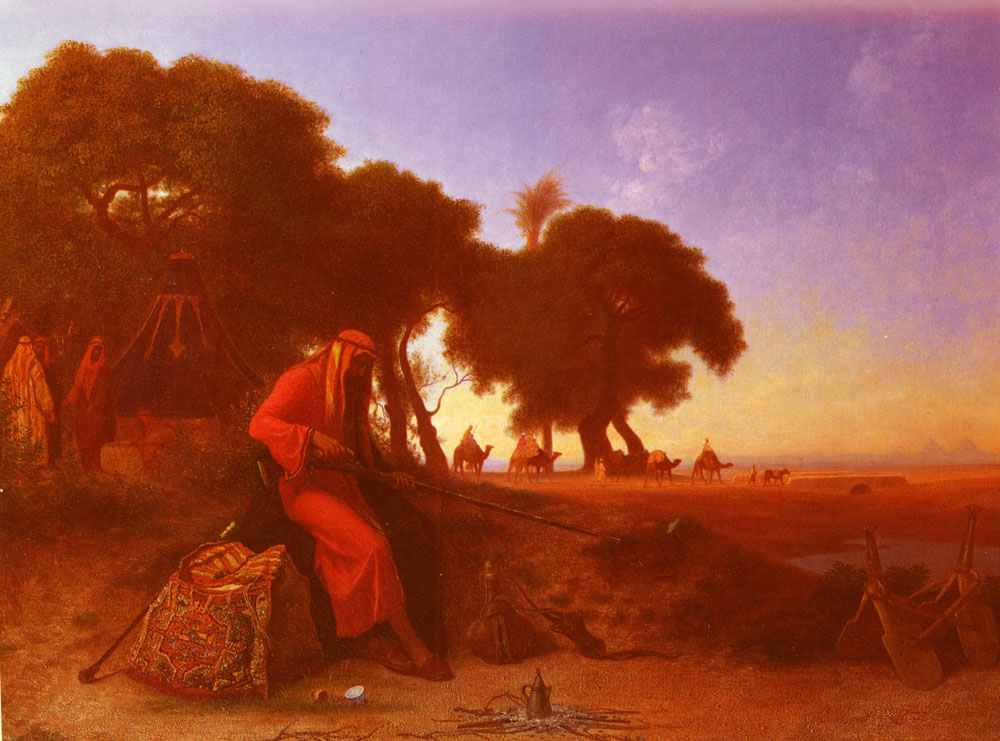 An Arab Encampment