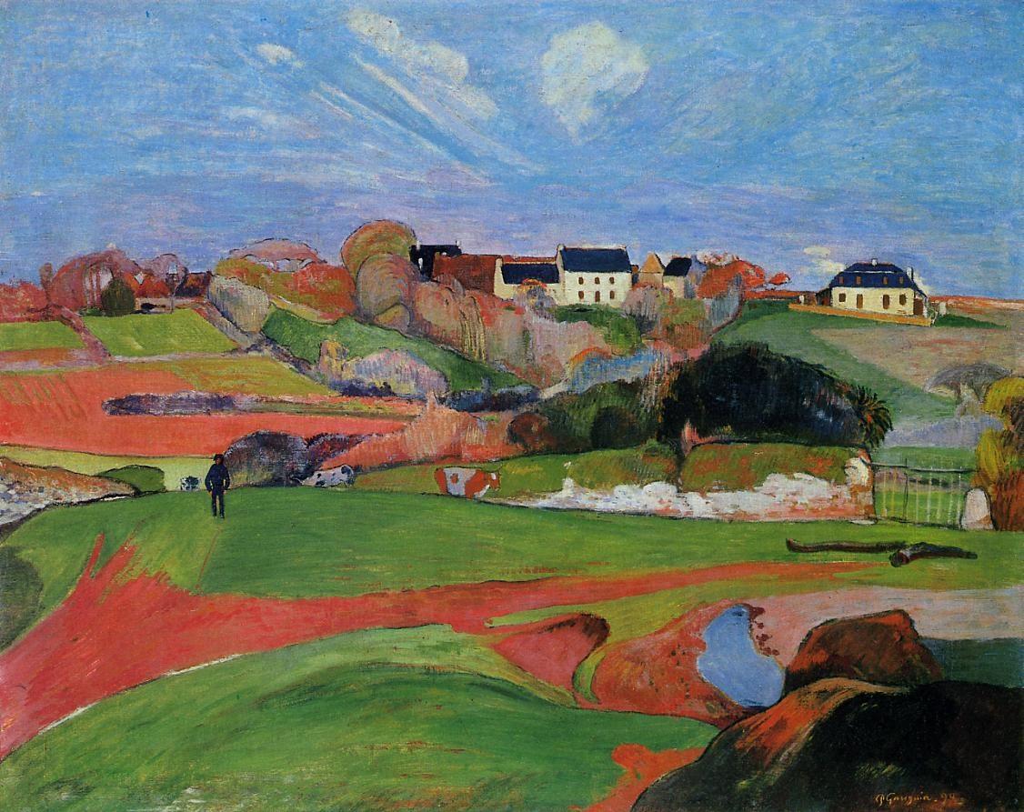 Fields at le Pouldu