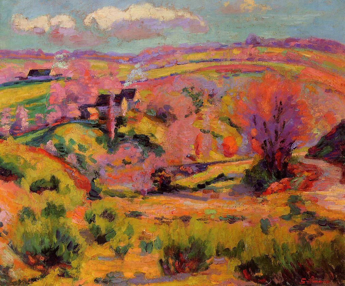 La Creuse Landscape, Spring