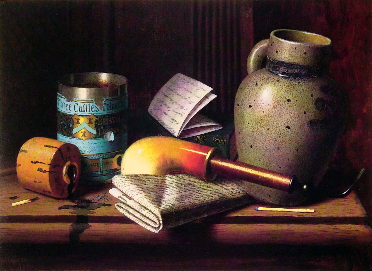 Still Life with Three Castles Tobacco