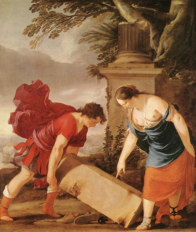Theseus and Aethra