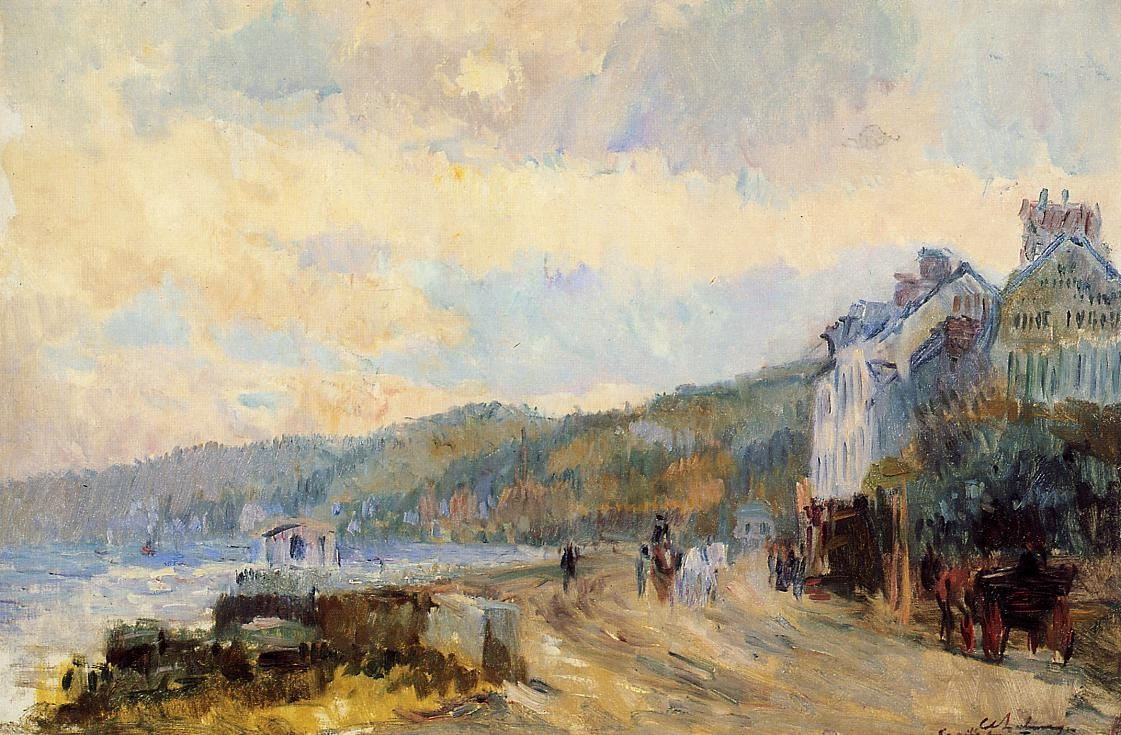 The Seine at Croisset, near Rouen