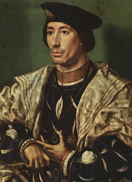 Portrait of Baudouin of Burgundy