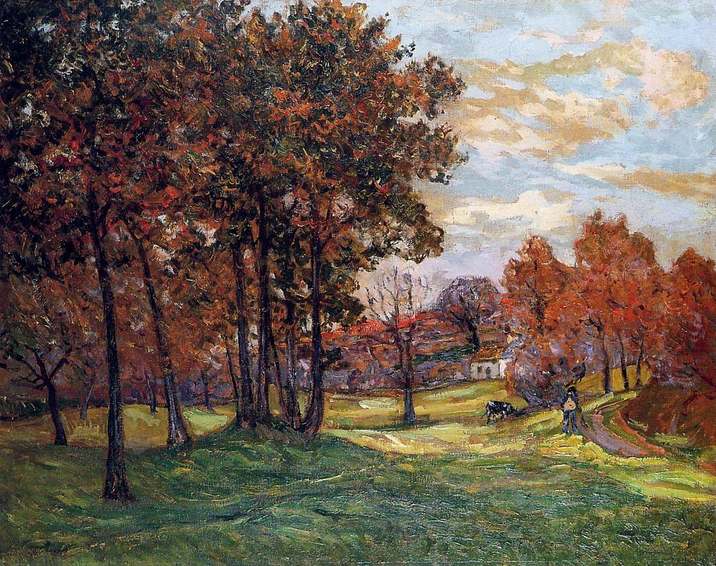 Autumn Landscape at Goulazon, Finistere