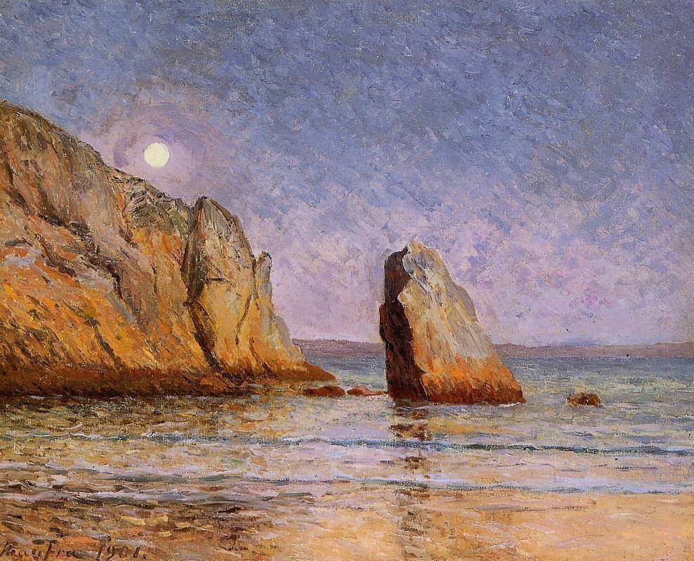 Moonrise, Bay of Douarnenez