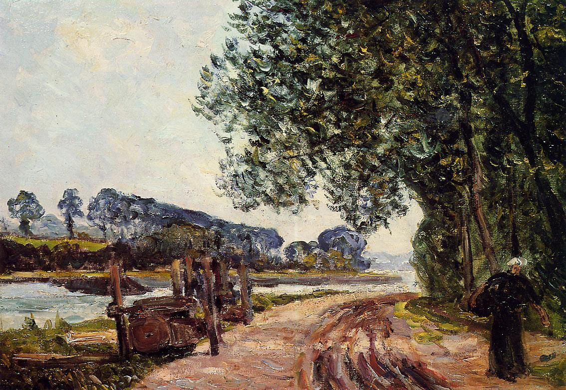 The Banks of the River Auray, Brittany