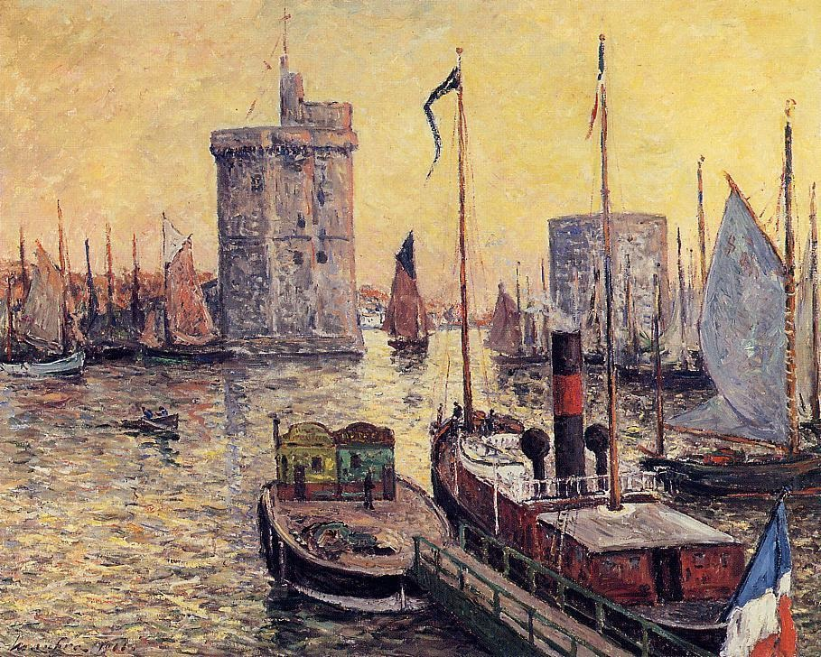 The Port of La Rochelle at Twilight